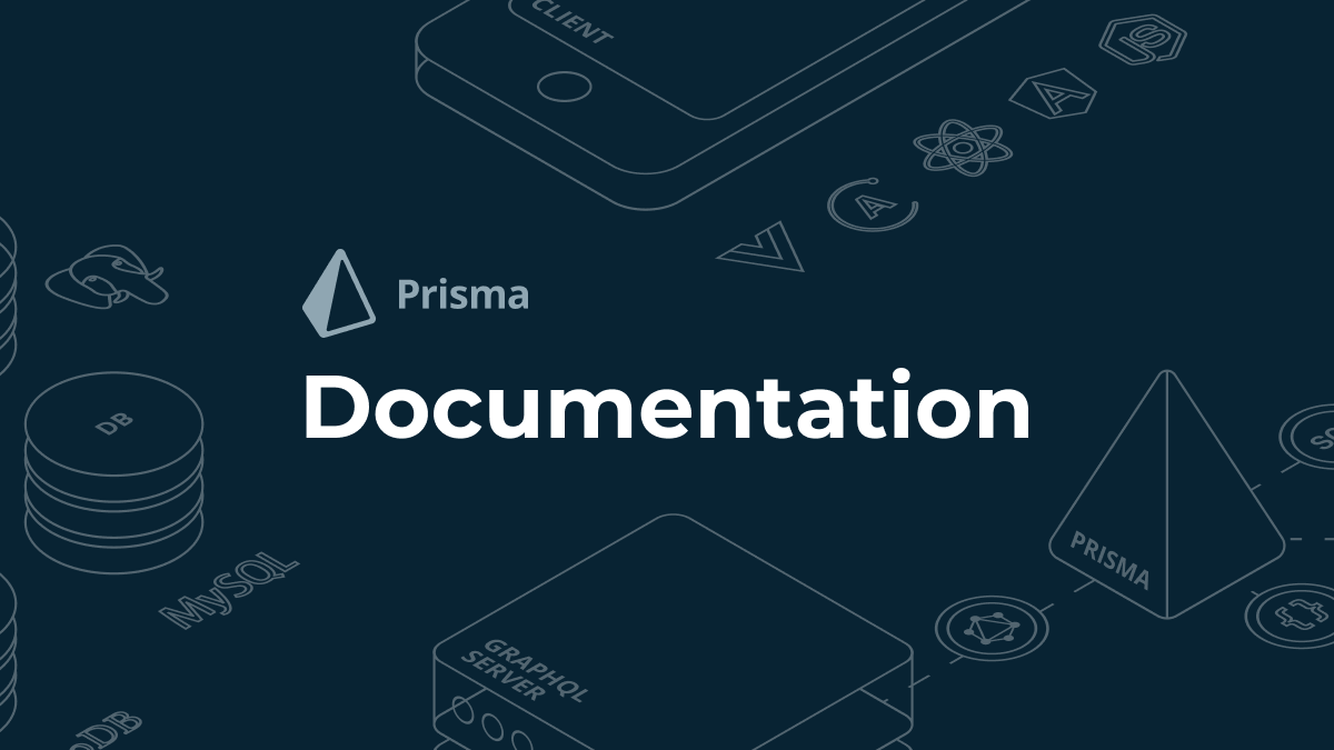 Set up Prisma with JavaScript - Prisma Docs